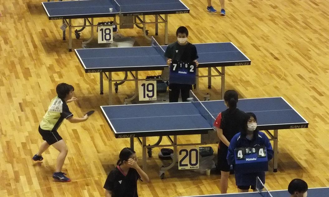 卓球部、全日本卓球選手権ジュニア中部大会、10人が県大会へ!