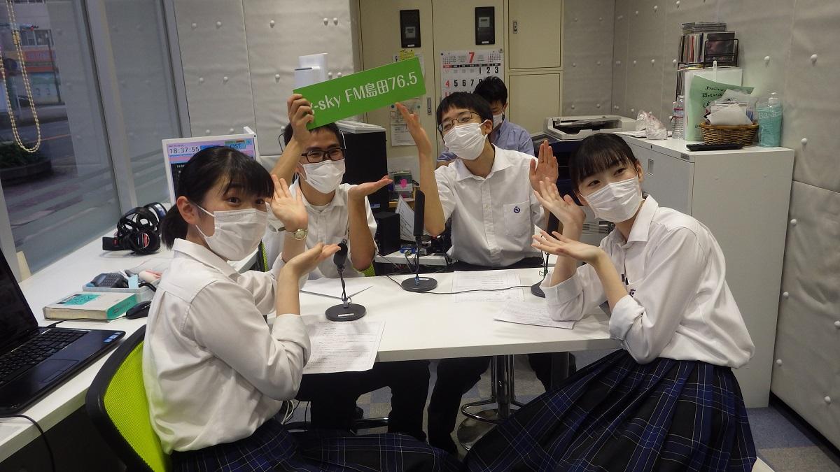 7月ハイスクールラジオ放送、先輩の大学キャンパスライフ紹介!