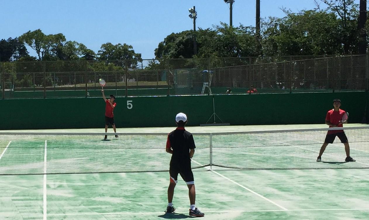 硬式テニス部、静岡市強化練習大会に参加!