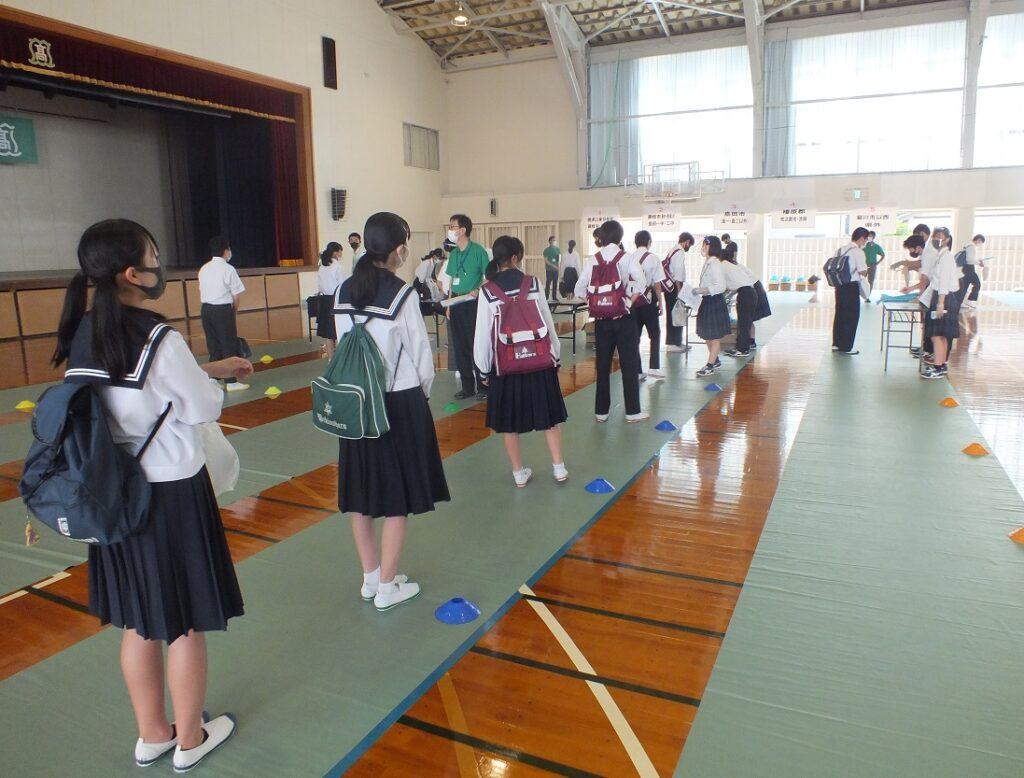 夏オープンスクール二日め、参加中学生総数530名以上!