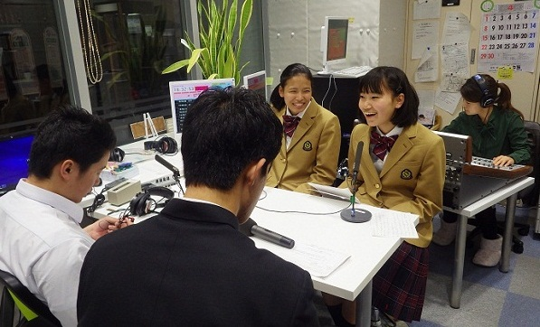 「ハイスクールラジオ」に出演しました