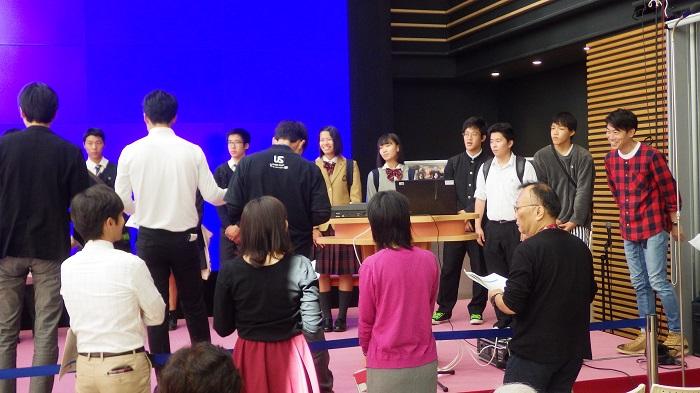 NHKラジオ「ドラマチックハイスクール」に出演しました