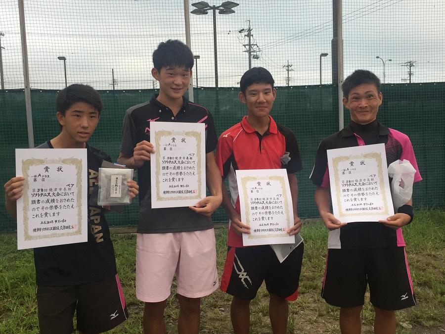 第38回焼津市長杯ソフトテニス大会