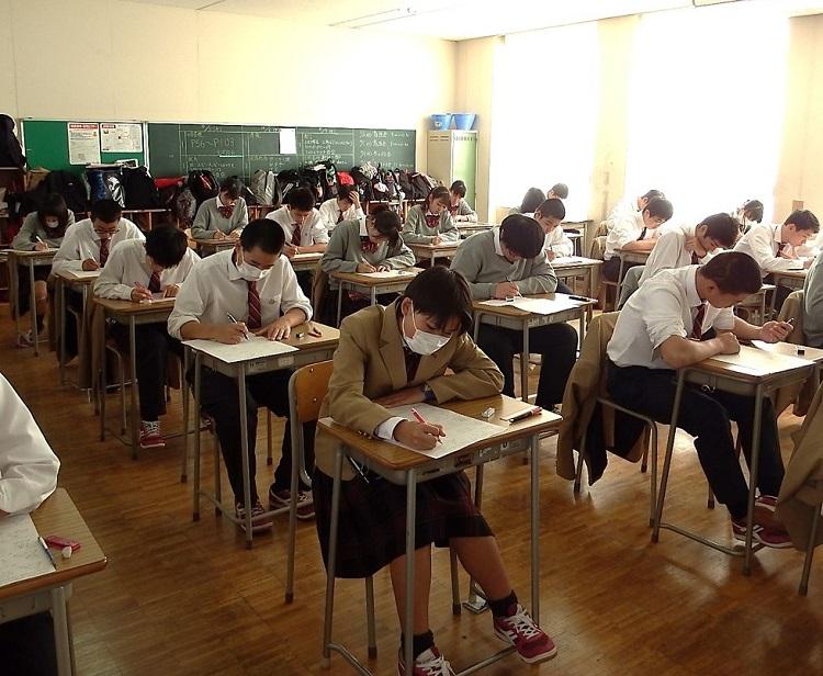 期末試験が始まりました