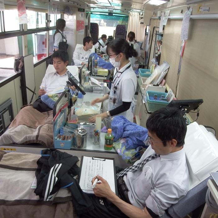 平成30年度卒業記念献血