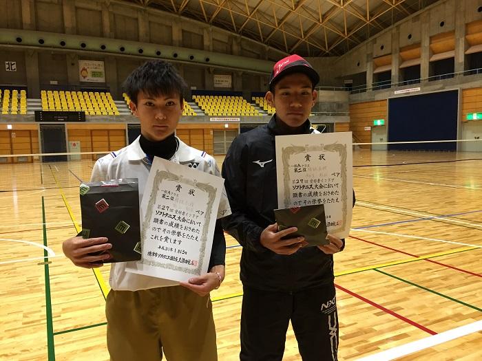 第27回ソフトテニス愛好者インドア大会(一般Aクラス)