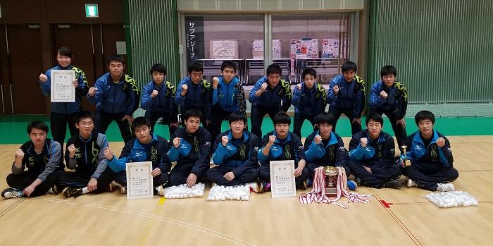 卓球部 志太榛原地区高校新人卓球大会(団体)