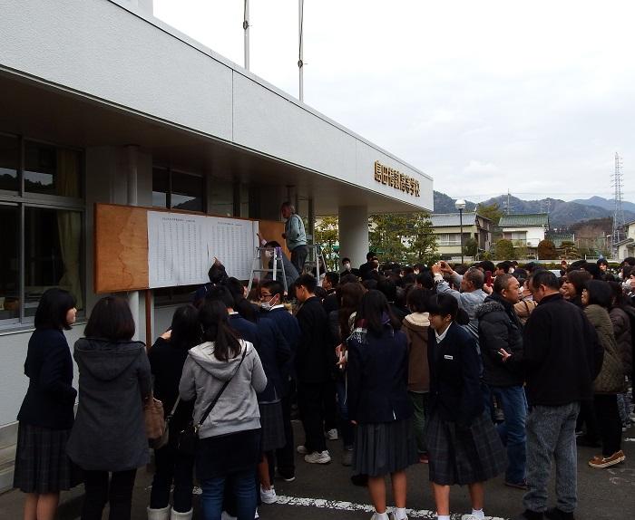 平成31年度入学者選抜検査 合格発表