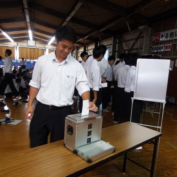 樟誠ゼミ「模擬選挙」