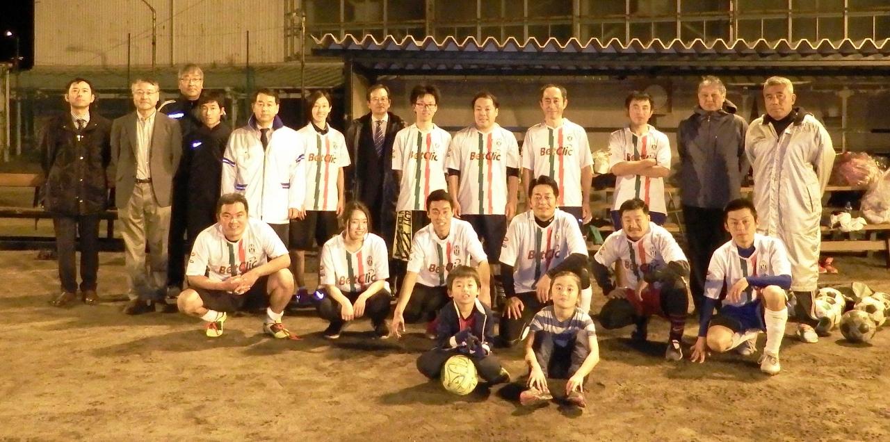 教職員サッカー大会に出場しました