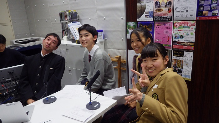 ハイスクールラジオ出演