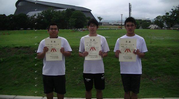令和2年度中部高校陸上選手権大会での本校生徒の活躍