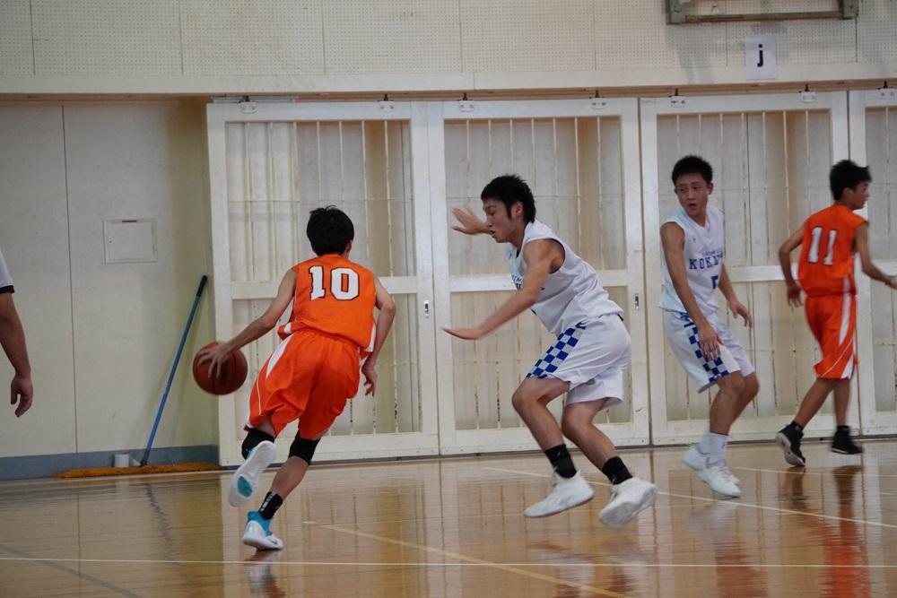 バスケットボール部は今年もチームワークを高め頑張ります