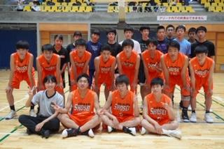 バスケットボール部チャンピオンシップ大会出場