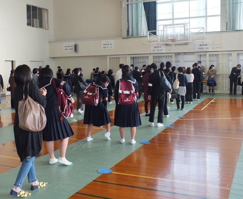 秋のオープンスクール初日 多くの皆さんで賑わいました!