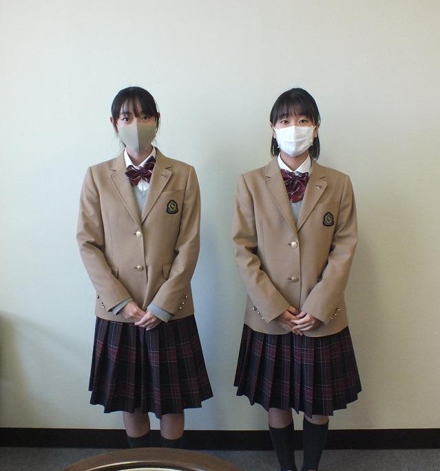 小林さん大石さん 島田市立看護専門学校 見事合格!