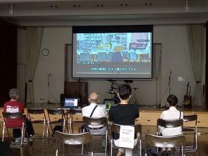 演劇部、藤枝市平和展ハイブリッドで映像による朗読公演!