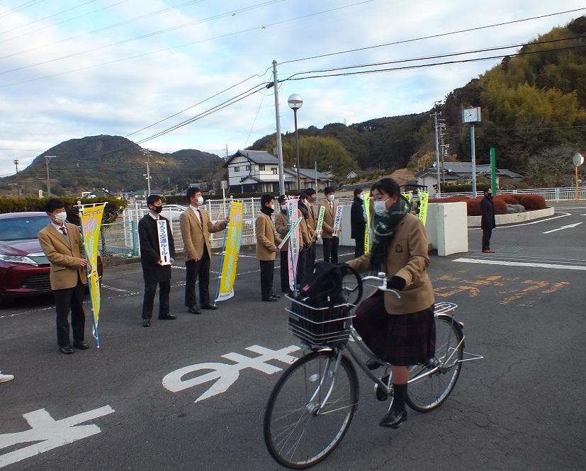 第3回街頭指導、自転車マナー向上呼びかけ!