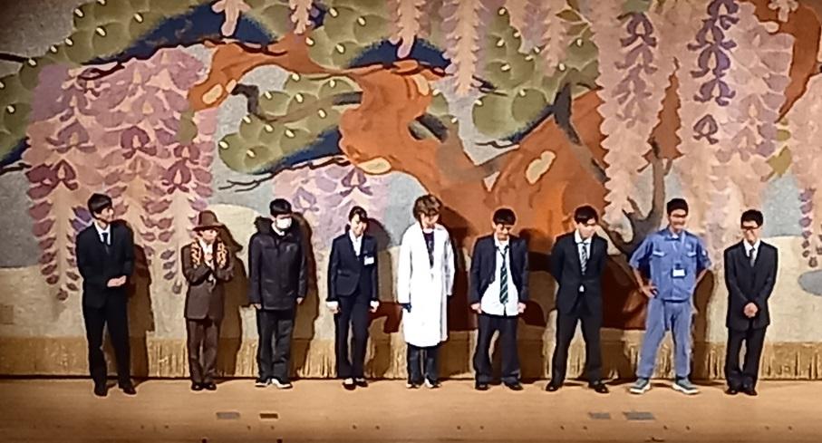 志太地区高校演劇公演で演劇部上演!