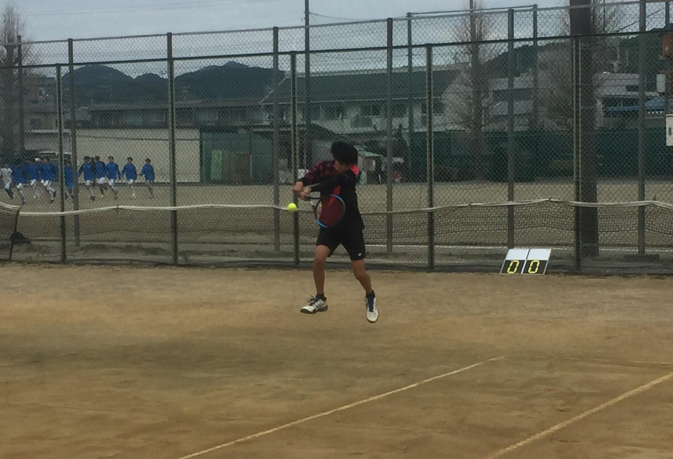 志榛地区高等学校対抗テニス大会で好成績!