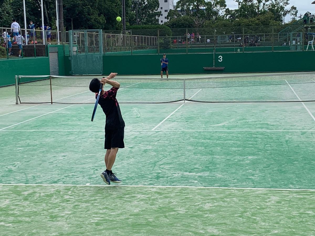 硬式テニス部、新人戦中部地区大会、団体戦を戦う!