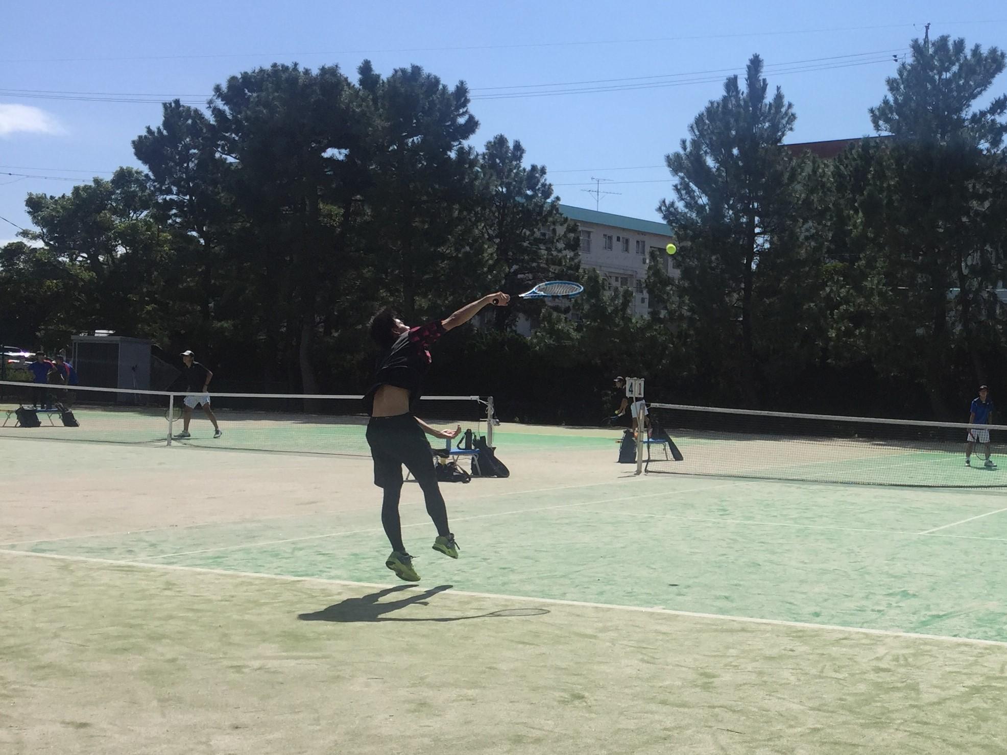 令和3年度 静岡県中部地区高校生サマーテニストーナメント、9ペア出場