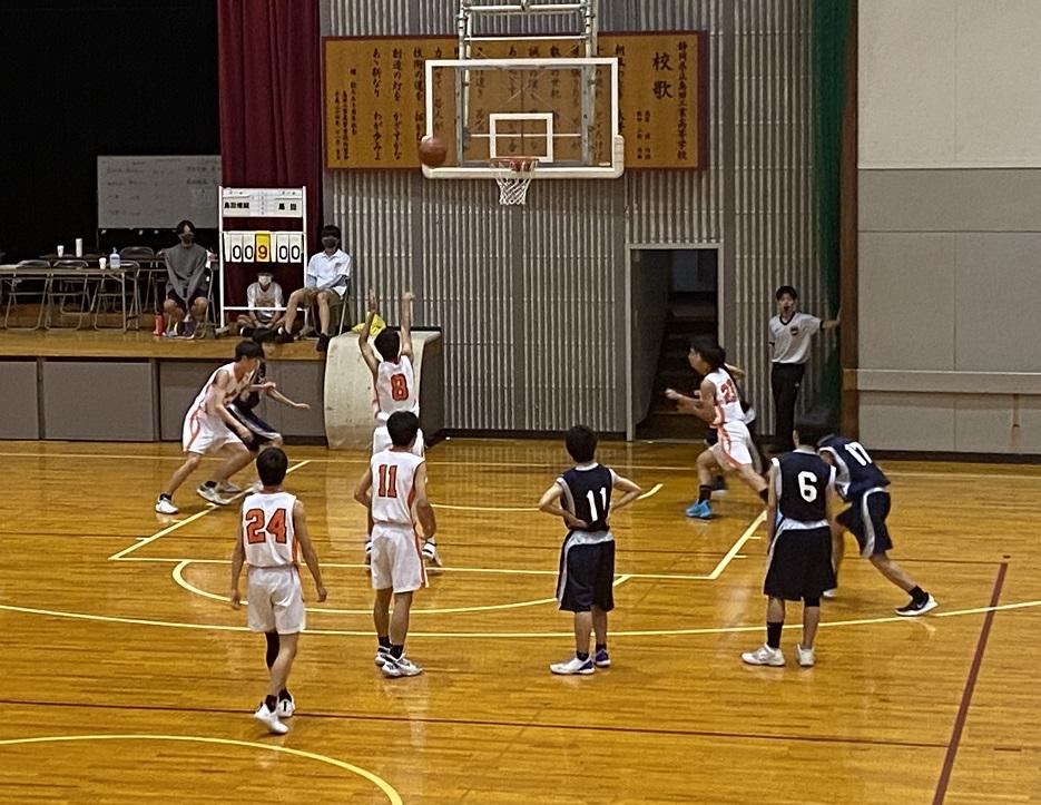 バスケットボール部選手権県大会、4回戦進出!